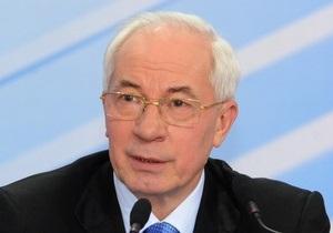 Азаров: В Украине начнется реализация масштабной программы развития спортивной инфраструктуры