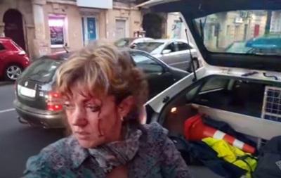 В Одессе избили проукраинскую активистку