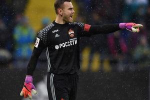 Акинфеев пропустил в сороковом подряд матче основного этапа Лиги чемпионов