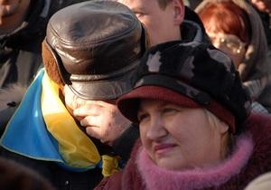 Между координаторами митинга на Майдане возникли противоречия относительно требований к власти
