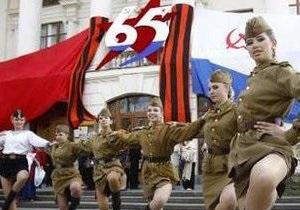 В Севастополе проходит парад