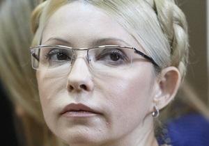 Тимошенко получила консультации медиков Минздрава