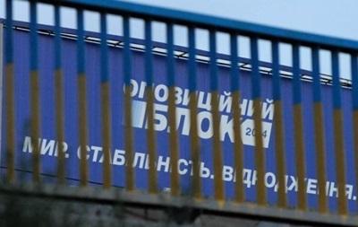 Нацполіція перевірить фінансування Опоблоку