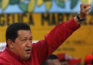Чавес потребовал прекращения военной операции в Ливии