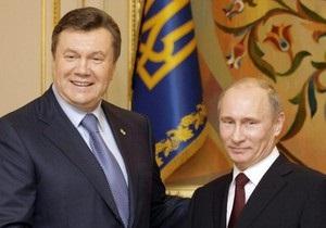 Янукович встретится с Путиным в Крыму
