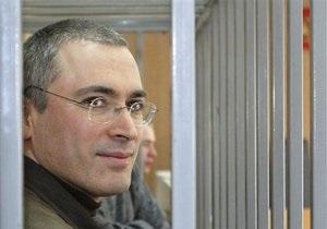Ходорковский призвал власти Британии поддержать демократию в России
