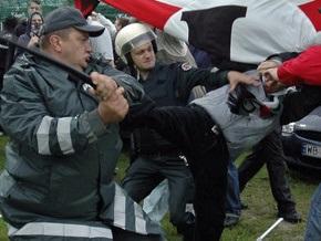 Демонстрация в Вильнюсе перерастает в массовые беспорядки