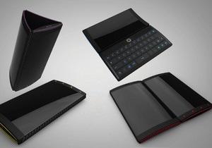 Датский дизайнер разработал Android-телефон с тремя дисплеями