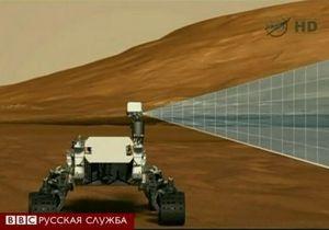 Первые фотографии с марсохода NASA