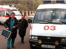 На Прикарпатье автомобиль на тротуаре сбил троих детей