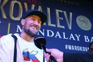 Ковалев: Я обещал, что закончу карьеру Уорда – так и вышло