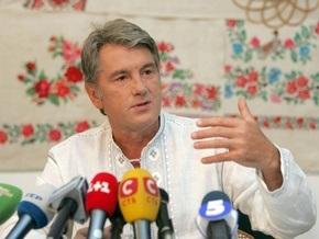 Ющенко призвал Медведева активизировать украинско-российский диалог