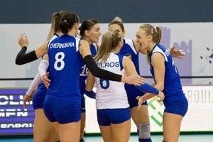Українські волейболістки залишили ЧЄ, не добувши жодної перемоги