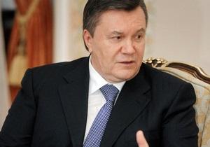 Украина в 2013 году закупит на треть меньше российского газа - Янукович