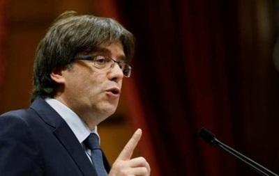 Пучдемон заявив, щоКаталонія проголосить незалежність найближчими днями