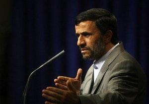 Ахмадинежад просит помощи у стражей революции