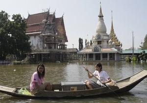 Эксперты: страховщики потеряли на наводнении в Таиланде $8-11 млрд