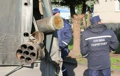 ДСНС: УКалинівці одинична детонація боєприпасів