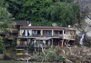 Жертвами оползней в Бразилии стали 68 человек. Ангра-дус-Рейс объявлен зоной бедствия