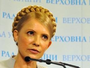 Тимошенко заявила, что попытается не распускать Раду в случае победы на выборах