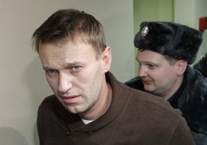 Навальный попал в сотню главных людей 2012 года по версии The Times