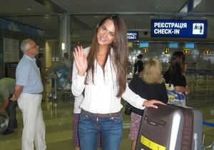Украинка Олеся Стефанко улетела в Бразилию на конкурс Мисс Вселенная