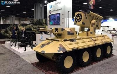 Украина показала военную технику на выставке в США