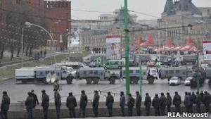 Российская оппозиция: Указ о митингах возле Кремля - признак страха