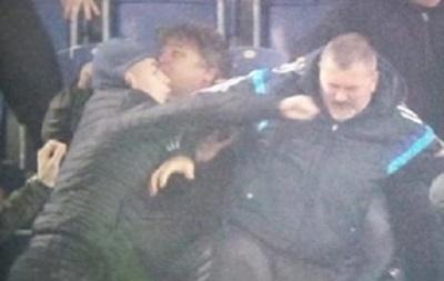 Фанаты Днепра избили нардепа Юрия Березу
