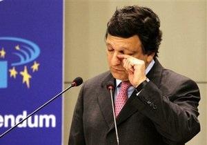 Баррозу: ЕС пока не видит условий для подписания Соглашения об ассоциации Украина-ЕС