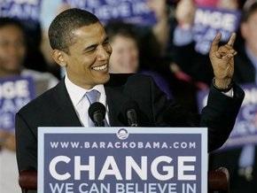 На сцене, где выступит Обама после выборов, установлено пуленепробиваемое стекло