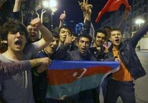 Азербайджан празднует победу на Евровидении