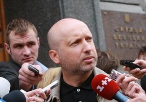 Турчинов: Следователь задавал те же вопросы, что и во время прошлого визита
