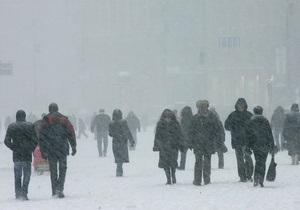 В Украине начали открываться пункты обогрева