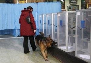 МВД: Выборы проходят спокойно