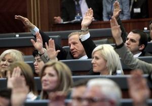 Парламент Косово избрал президентом миллиардера