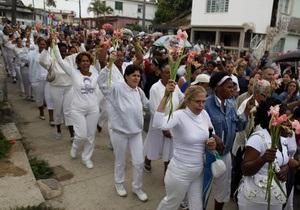 На Кубе разогнали демонстрацию жен и матерей политзаключенных