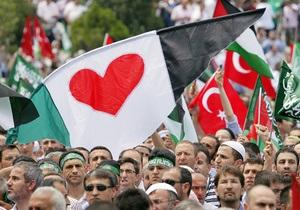 В Александрии и Стамбуле прошли многотысячные антиизраильские митинги
