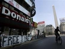 Олимпийский огонь прибыл в Буэнос-Айрес