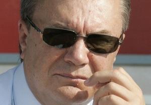 Янукович проведет совещание в Крыму