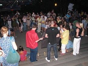 В Одессе фанаты Черноморца сорвали флешмоб памяти Джексона