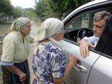 Ющенко будет посещать пострадавшие регионы каждые десять дней