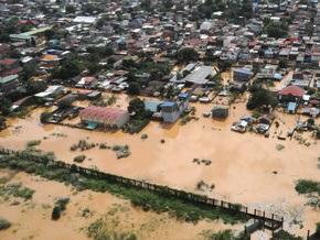 Число жертв наводнения на Филиппинах достигло 284 человек