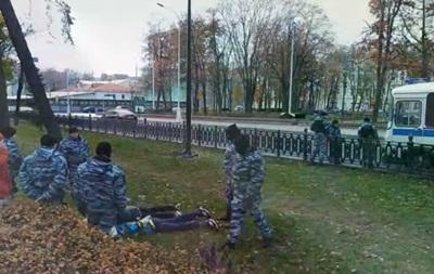В центре Москвы задержали более 80 человек