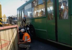 В Киеве троллейбусы хотят заменить автобусами