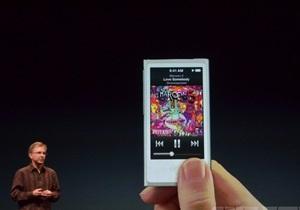 Apple обновила плееры iPod и сервис iTunes