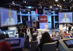 Тимошенко просится на эфир к Шустеру