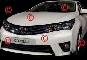 В интернете появились фотографии новой Toyota Corolla