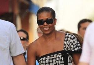 Американские СМИ сравнили Мишель Обаму с Марией-Антуанеттой за вояж в Испанию