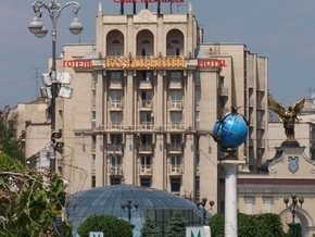 На Майдане Незалежности пытались захватить гостиницу